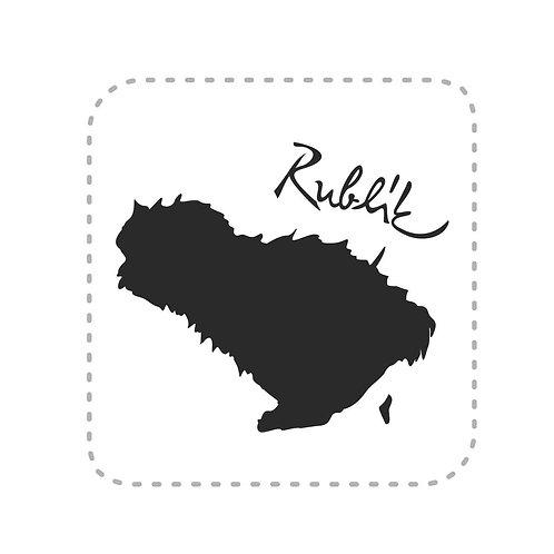 Samolepka Rublík