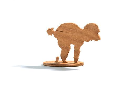 Dřevěný Sraloun Pudlík