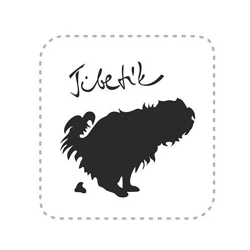 Samolepka Tibetík