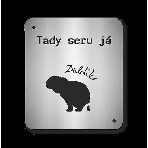 Cedulka Buldík