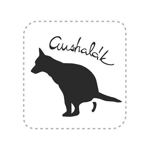 Samolepka Australák