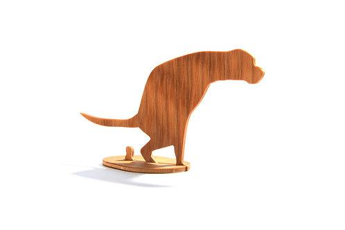 Dřevěný Sraloun Boxík s ocasem