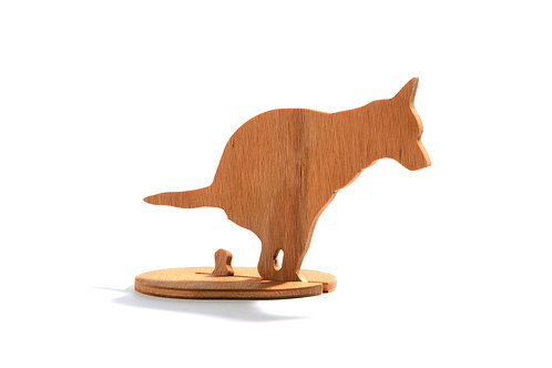 Dřevěný Sraloun Australák