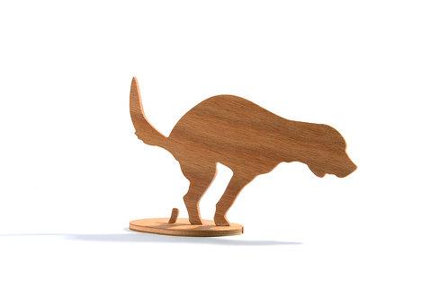 Dřevěný Sraloun Bígl