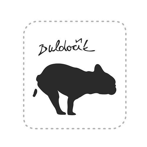 Samolepka Buldočík