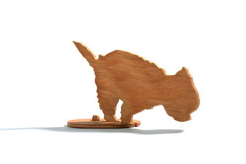 Dřevěný Sraloun Westík