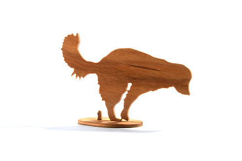 Dřevěný Sraloun Havawík