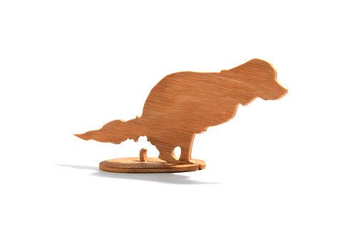 Dřevěný Sraloun Retrívr