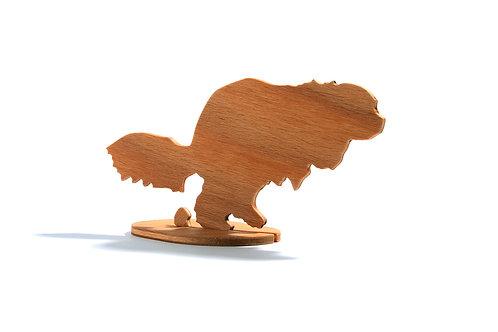 Dřevěný Sraloun Kavalír