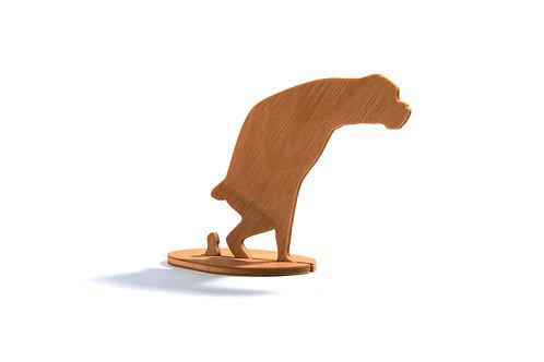 Dřevěný Sraloun Boxík bezocas