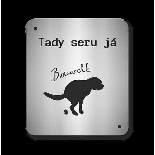 Cedulka Bernardík