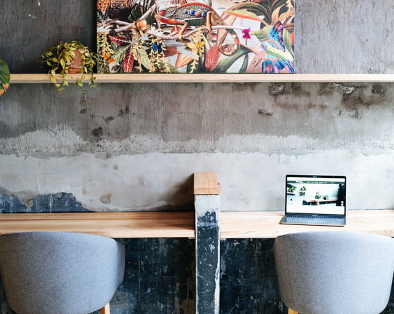 Werk samen in onze aparte meetingspace