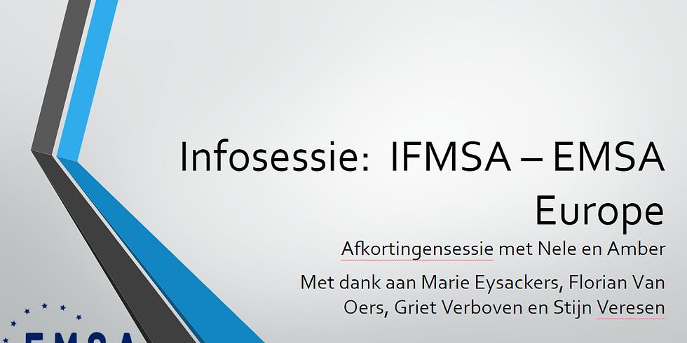 Infosessie IFMSA-EMSA Europe