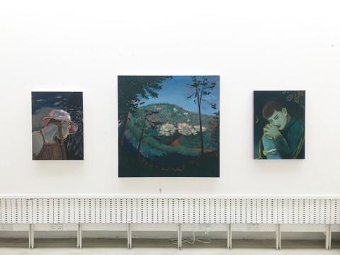 Take me somewhere nice (triptych)