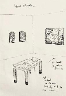 Degree Show Proposal Sketch
