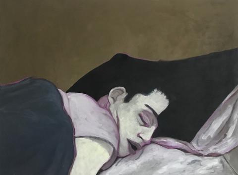 Self Portrait Sleeping