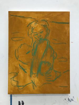 Soft pastel sketch