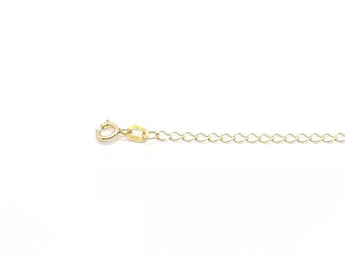 Corrente Feminina Groumet 45cm Ouro Amarelo Fattini