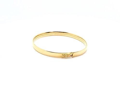 Pulseira Bracelete Feminina Ouro Amarelo