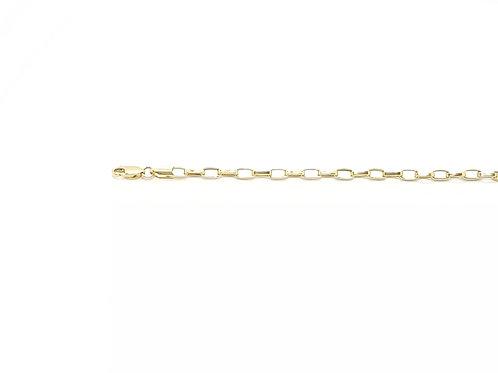 Corrente Masculina Cartier 50cm Ouro Amarelo Fattini