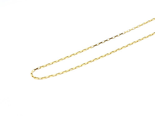 Corrente Masculina Cartier 60cm Ouro Amarelo Fattini
