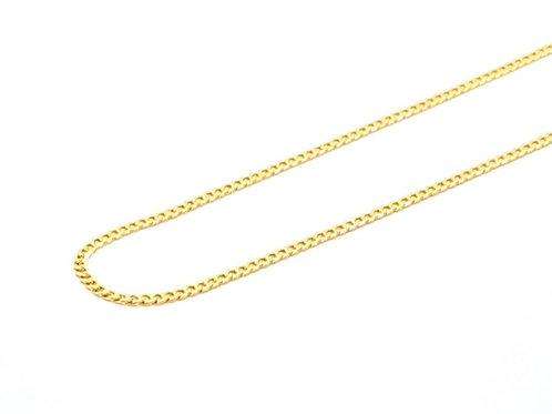 Corrente Masculina Groumet 60cm Ouro Amarelo Fattini