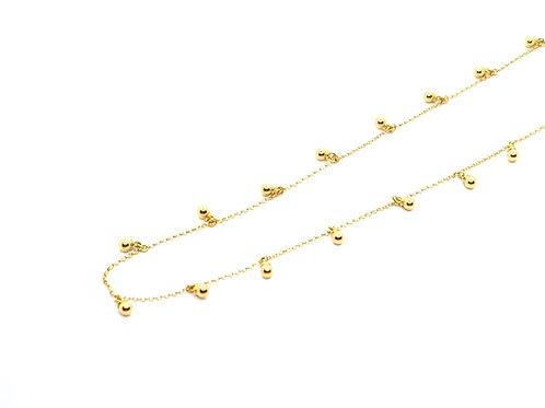 Chocker em Ouro Amarelo com Plaquinhas Coleção Fattini