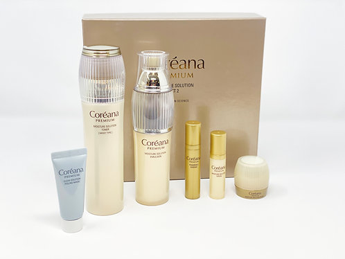 COREANA PREMIUM - MOISTURE SOLUTION SOLUTION SET 2