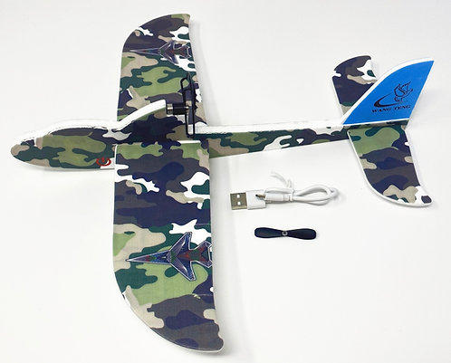 Hobby Self Propelled Airplane -USB Rechargeable flying Toy Plane