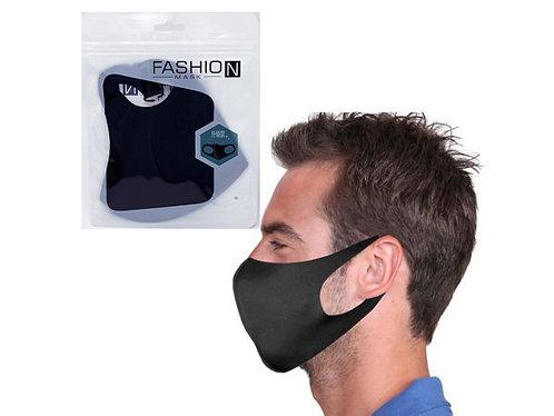 Fashion Mask - Black Reusable Face Mask