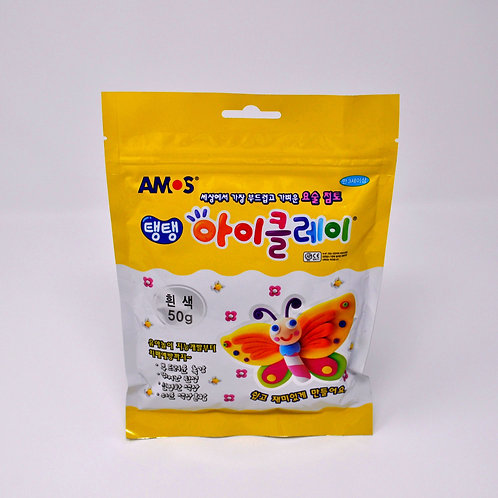 Amos iClay (50g) 1PK - White