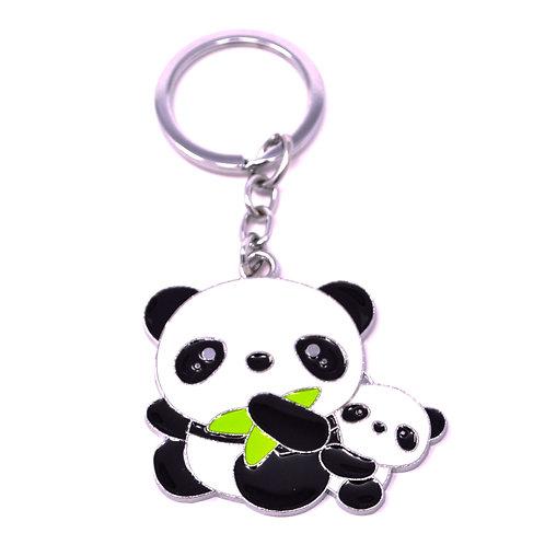 Character Keychain - Mommy & Baby Panda