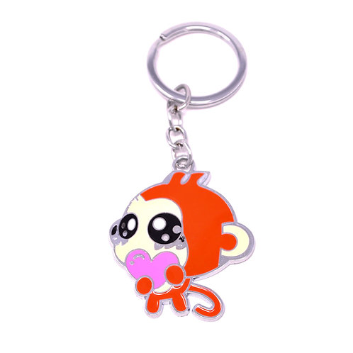 Character Keychain - Romantic Monkey