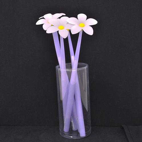 Gel Pen - Daisy Flower - Black Ink