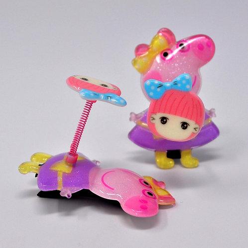 Kids Alligator Clip - Peppa Pig Spring Hair Clip - Little Girl (1PC)