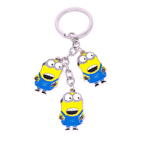 Triple Character Keychain - Minions - Dave