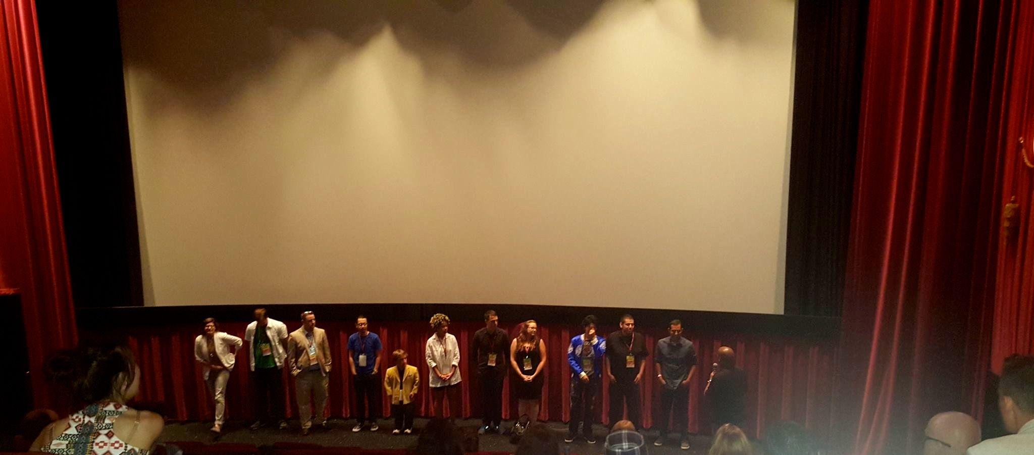 Director Michael Weinstein screening