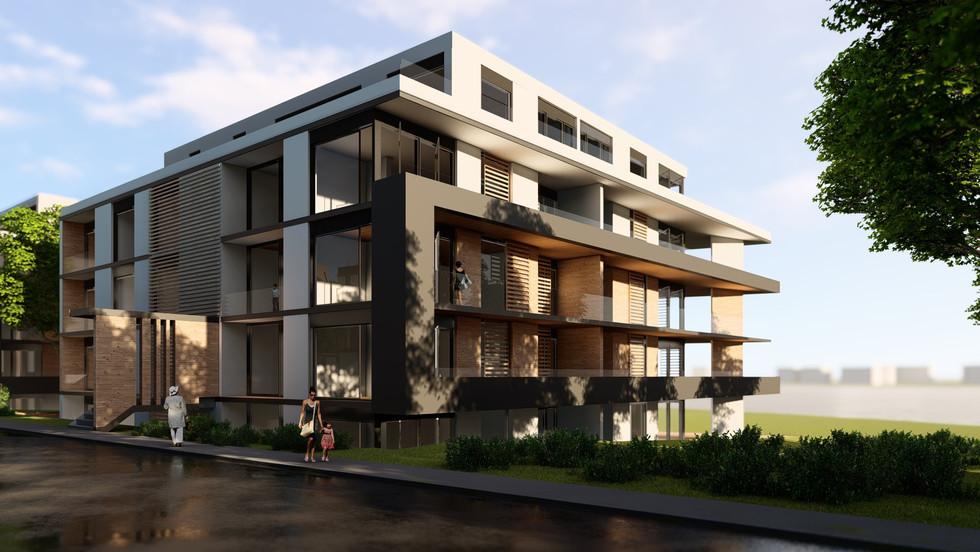 Collective Housing in Floreasca