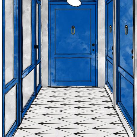 Joyful Designs ®️ Studio | Decadent Blues and a Purple Swirl