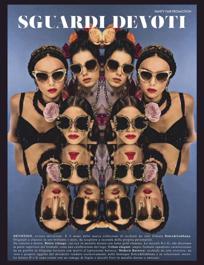 Sguardi Devoti, Vanity Fair x Dolce & Gabbana