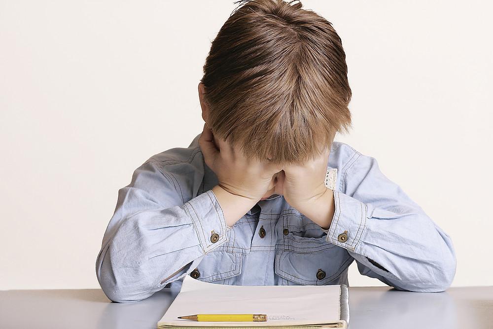 школьная неуспеваемость, нежелание учиться