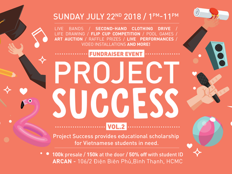 Project Success Charity Event - July 22, 2018