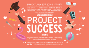 Project Success Charity Fundraiser Arcan Education Scholarship