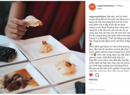 Instagram Review from saigonesekitchen