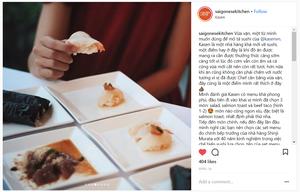Instagram review from saigonesekitchen / Foodpornsaigon