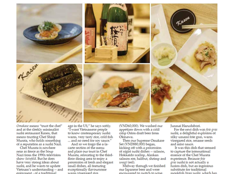 AsiaLIFE Vietnam Magazine Visits Kasen