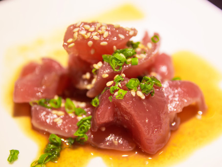 New Style Tuna Sashimi