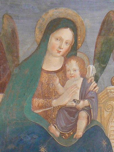 Francesco_Melanzio_-_Madonna_con_Bambino