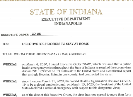 Indiana Essential Business Determination