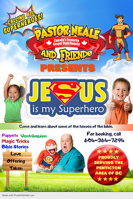 Jesus My Super Hero promo - Made with PosterMyWall.jpg